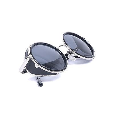 Gafas Steampunk Soldado Imperial 50s, gafas steampunk redondas, mejores accesorios Steampunk