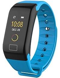 Longra*Longra 2018 Hombres Mujeres Reloj Digital Camera F1 Color Fitness Presión Arterial Oxígeno Pulsómetro