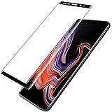 L K per Pellicola Protettiva Samsung Galaxy Note 9 [9H Durezza] [Curva 3D] [Copertura Completa] [Kit d'Installazione] Pellicola Vetro Temperato - Nero