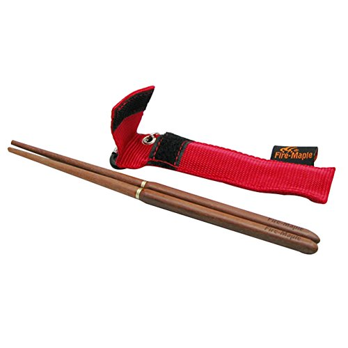 41uVLaTbZWL. SS500  - TwinkBling Portable Chopsticks Foldable Wooden Chopsticks for Camping Hiking with Pouch