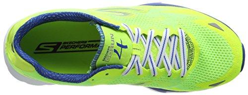 Skechers  Go Run 4, Chaussures de Running Compétition homme Vert - Green (Lmbl)