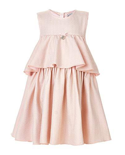 GULLIVER Baby Mädchen Kleid | Farbe Hell Rosa | Ärmellos |mit Band am Rücken | für 9-24 Monate - Kleid Mädchen Band