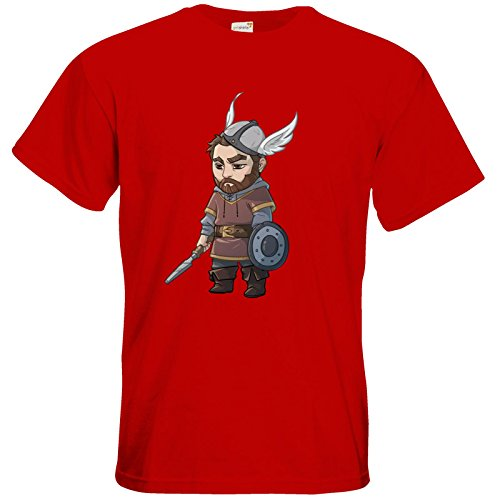 getshirts - Das Schwarze Auge - T-Shirt - Let's Plays - Nubor - Chibi Red