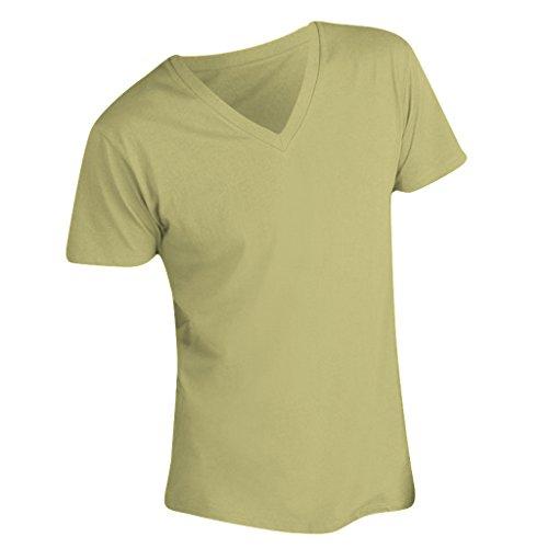 SOLS Master Herren T-Shirt, V-Ausschnitt, Kurzarm Marineblau