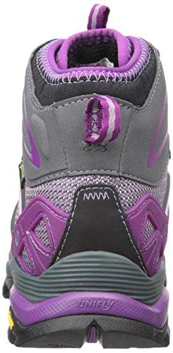 Merrell Capra Mid Sport Gtx, Bottines de randonnée femme purple