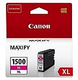 Canon PGI-1500XL M original Tintenpatrone  Magenta XL für Maxify Drucker MB2050-MB2150-MB2155-MB2350-MB2750-MB2755