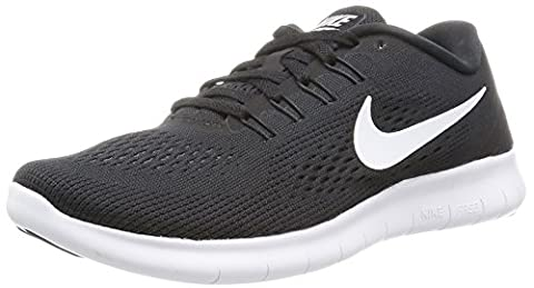 Nike Free Run, Chaussures de Running Femme, Noir (Black/Anthracite/White), 36.5
