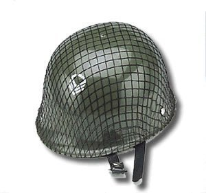 Jacobson Hat Company Child's Plastic Netted Army Helmet, Green by Jacobson Hat Company (Jacobson Hat)