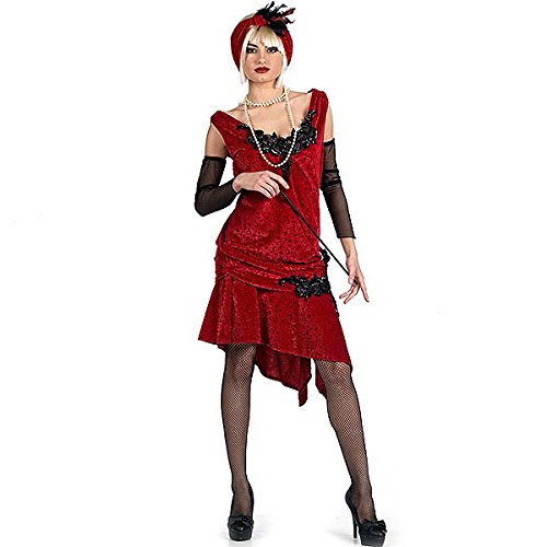 Limite en brocart Charleston Costume XL)