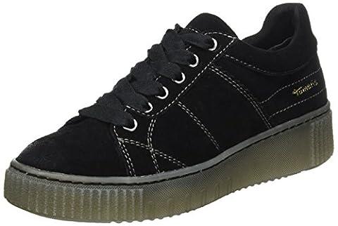 Tamaris 23721, Sneakers Basses Femme, Noir (Black), 38 EU