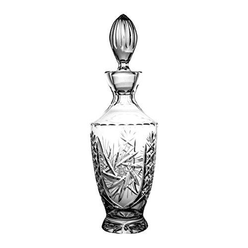 Crystaljulia 2909 Karaffe, Kristall, 1000ml, 12 x 12 x 27 cm