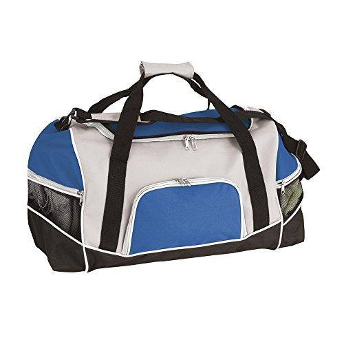 Sport Und Fitness Allzweck Tasche Mit Schulterriemen - Verfügbar In 4 Farben - Large, Rot Königsblau