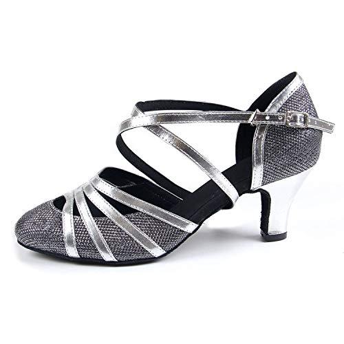 Syrads Zapatos Baile Latino Mujer Salsa Zapatos Salón