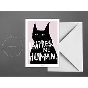 Postkarte / Impress Me