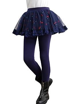 Leggings del pannello esterno, Brightup Bambini pantaloni ragazza due pezzi stella stampe tutu gonna Leggings...