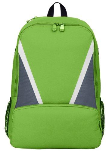 Augusta Sportswear Einbaum Baseball Bat Rucksack LIME/GRAPHITE/WHITE