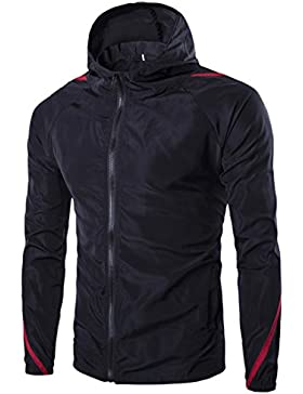 [Patrocinado]Chaqueta HDH cálida cortavientos, para deportes al aire libre, senderismo, escalada, esquí, ciclismo, para hombres