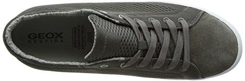 Geox U Smart B, Sneakers Basses Homme Gris (Greyc1006)