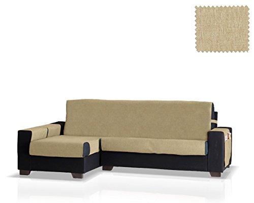 JM Textil Husse für Sofa mit Ottomane Larissa Ottomane Links (Verfügbar in Mehreren Farben)