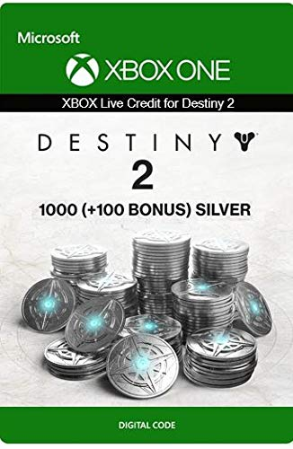 Xbox Live Guthaben für Destiny 2: 1000 (+100 Bonus) Silber Xbox One/Windows 10 PC - Download Code