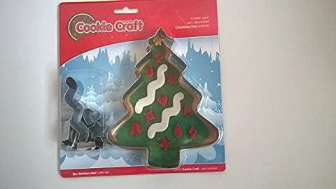 Eddingtons Cookie Craft Christmas Tree Cookie Cutters Kit.