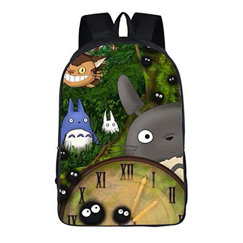 Anime My Neighbor Totoro Rucksack Daypack Laptop Tasche Umhängetasche College Bag Book Bag Schultasche