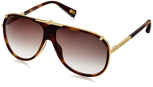 e3e8a12b0874 Marc jacobs 0827886739837 Aviator Sunglasses Brown Mj 306 S 001js- Price in  India