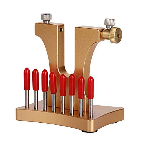 Breaker Lug Kit (Rosvola Beschädigtes Schraubenentfernungswerkzeug, mit 8 Edelstahlstiften, gebrochenem Schraubenauszieher, Uhrreparaturwerkzeug)