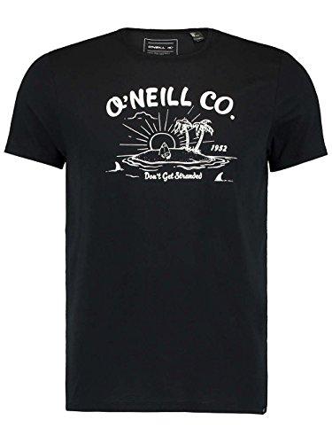 O'Neill LM Stranded T-Shirt schwarz - weiß