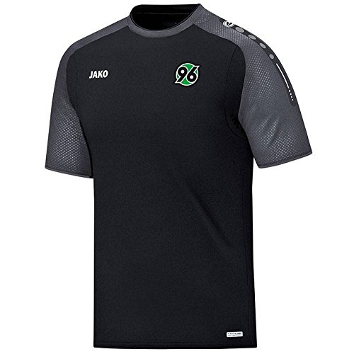 Jako Hannover 96 T-Shirt Champ schwarz-anthrazit schwarz-anthrazit, XL (Champs-xl T-shirt)