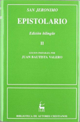 Epistolario de San Jerónimo. II: Cartas 86-154 (NORMAL) por San Jerónimo