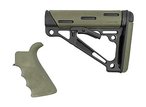 Hogue AR-15/M-16 Kit - OverMolded Grip & Buttstock - Mil-Spec