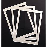 3x A4Passepartout, Vintage 19,1x 26,7cm Wörterbuch Seite Gedruckt Weiß * * Diese ist eine Halterung–nicht einem Rahmen * *
