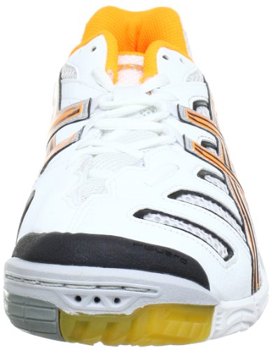 Asics, GEL-SENSEI 4, Scarpe sportive Uomo White/Black/Neon Orange