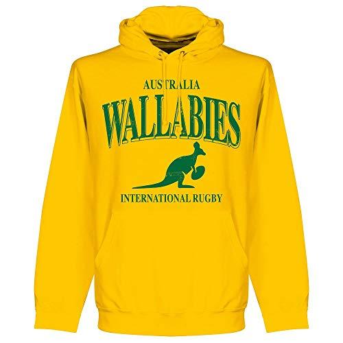 Retake Australien Wallabies Boys Rugby Kapuzenpullover - gelb - 2 Jahre