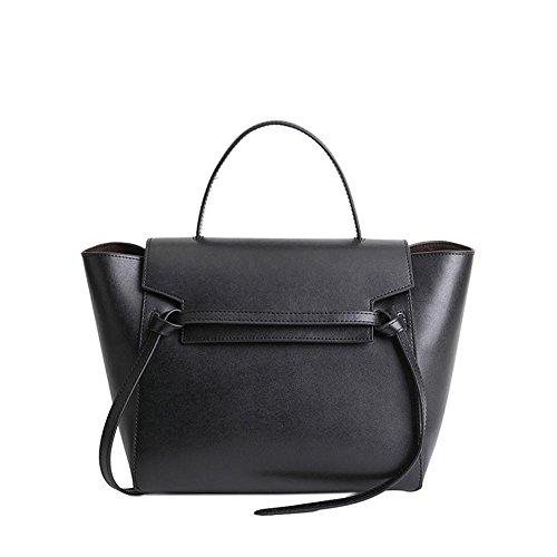 VIVIESTA ,  Damen Schultertasche, schwarz - schwarz - Größe: One Size