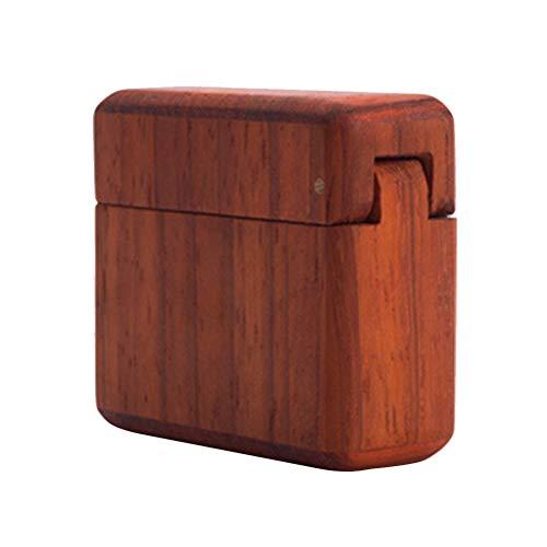 TOPBATHY 1 stück Retro Holz Schmuckschatulle Schmuck Container Vorschlag Ring Fall Für Frauen (Palisander)