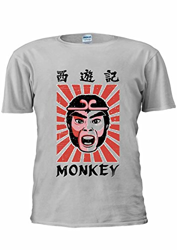 Monkey Magic 70s Martial Arts TV Show T-shirt