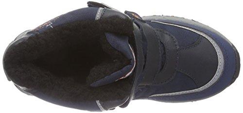 Kappa DENTON II TEX K Footwear Kids, Stivali Unisex Bambino Blu (Blau (6744 navy/orange))