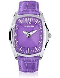 Chronotech CT7219L07 - Reloj para mujer con correa de piel, color morado / gris