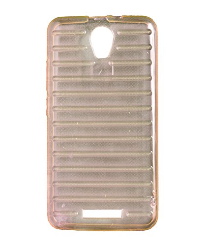 iCandy Break Design Soft TPU Back Cover for Micromax Canvas Juice 2 AQ5001 - Pink  available at amazon for Rs.105