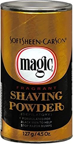 Magic Fragrant Shaving Powder, 4.5-Ounce Cans (Pack of 12) by Magic