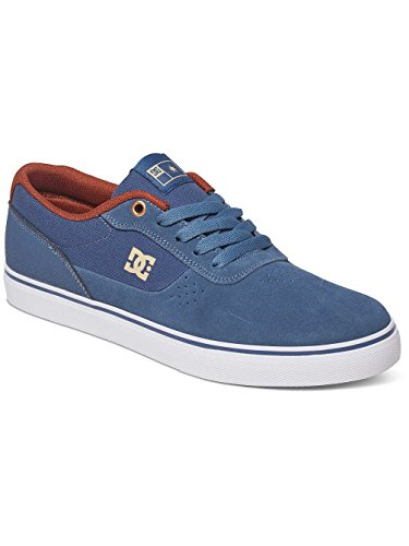 DC Shoes Switch S - Chaussures basses pour homme ADYS300104 Vintage Indigo
