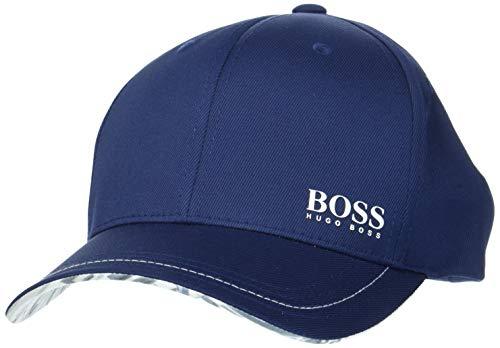 BOSS Athleisure Herren Cap-Logarithm Baseball Cap, per Pack Blau (Navy 410), One Size (Herstellergröße: ONESI)