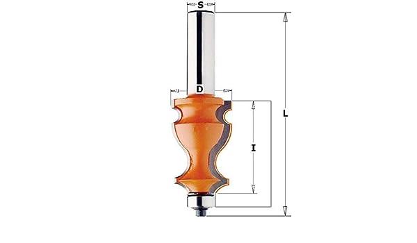 hm s 23,8 35 x 12 d CMT Orange Tools 955,901,11-Fraise pour moulure /à rodam