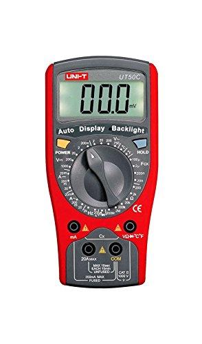 UNI-T multimetro AC/DC misuratore, ut50C