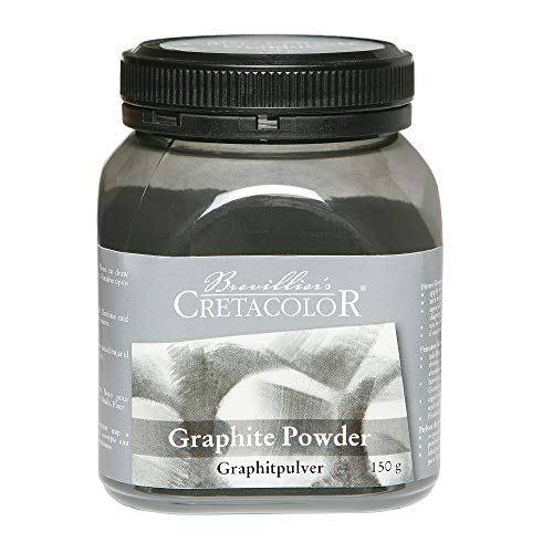 CBV15080 Cretacolor Künstler Pulver in Kunststoffdose, Graphitpulver (150 g)