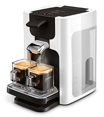 Senseo Quadrante hd7865/00Coffee Machine in Capsules 1.2L 8Cups Silver–Coffee (Freestanding, Coffee Machine in Capsules, Coffee Beans, Coffee Pods, Silver, Buttons, 50/60Hz)
