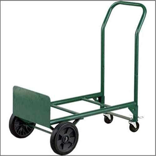Adjustable Folding Convertible Multi-Purpose Dolly and Cart Utility Hand Truck with 400 LB Weight Capacity by Harper Trucks (Industrial Appliance Dolly)