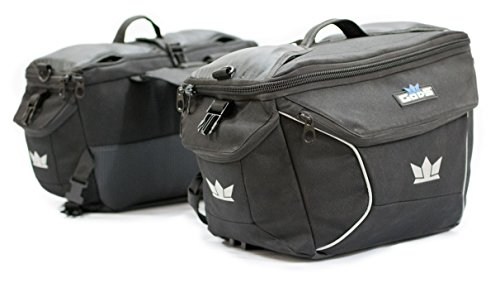 GODS Triton X2 - 50 Ltr Black Bike Saddle Bag - Buy at best and ... cd550aac34